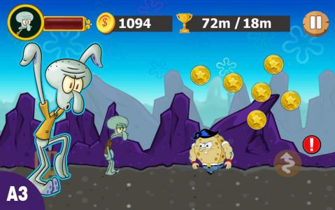 اسکرین شات بازی باب اسفنجی ستاره ۲ 1