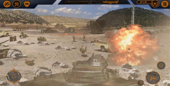 اسکرین شات بازی دلاوران 1