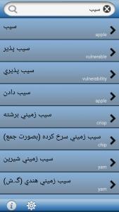 اسکرین شات برنامه دیکشنری حرفه ای | تلفظ آفلاین 2