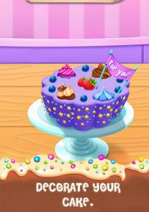 اسکرین شات بازی Cake Master Cooking - Food Design Baking Games 4