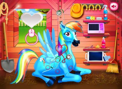 اسکرین شات بازی Princess rainbow Pony game 4