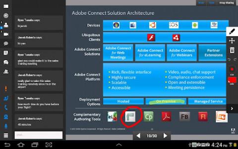 اسکرین شات برنامه adobe connect (ادوب کانکت) 7