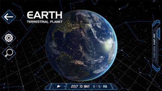 اسکرین شات برنامه Solar System Scope 2