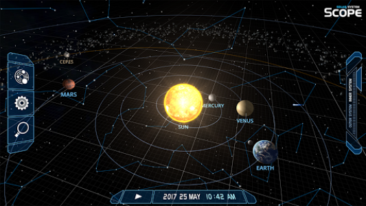 اسکرین شات برنامه Solar System Scope 6