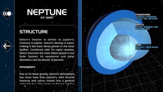 اسکرین شات برنامه Solar System Scope 4