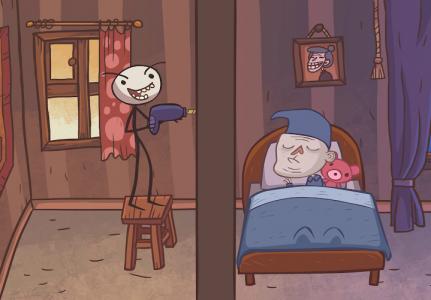 اسکرین شات بازی Troll Face Quest: Unlucky 1