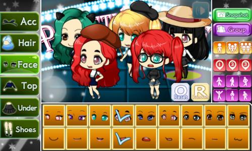 اسکرین شات بازی Girl Group Pretty Girl 3