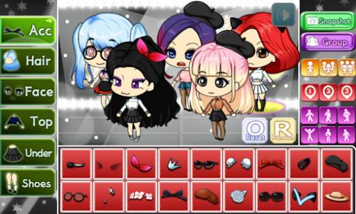 اسکرین شات بازی Girl Group Pretty Girl 1