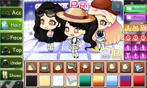 اسکرین شات بازی Girl Group Pretty Girl 2