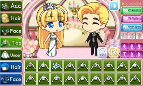 اسکرین شات بازی Wedding Pretty Girl : dress up game 4