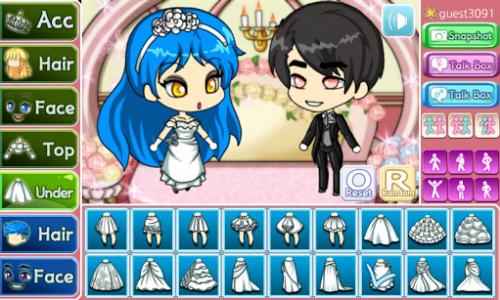 اسکرین شات بازی Wedding Pretty Girl : dress up game 3