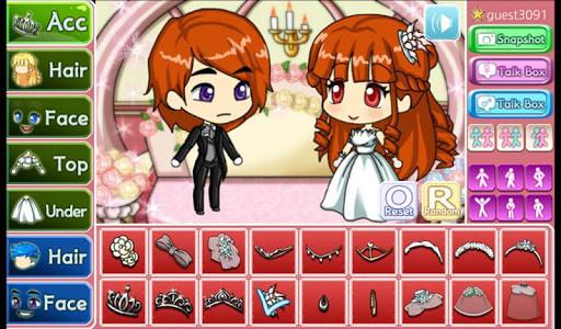 اسکرین شات بازی Wedding Pretty Girl : dress up game 7