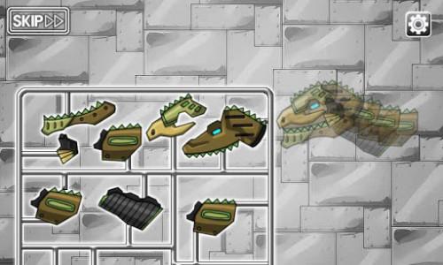 اسکرین شات بازی Giganotosaurus - Combine! Dino Robot 4