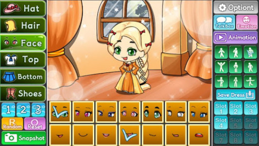 اسکرین شات بازی Pretty Girl's Tangled Style : dress up game 3