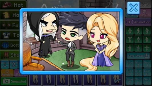 اسکرین شات بازی Pretty Girl's Tangled Style : dress up game 5