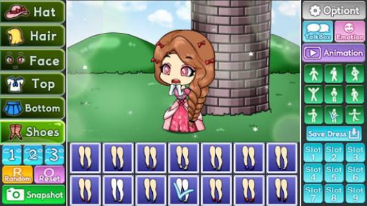اسکرین شات بازی Pretty Girl's Tangled Style : dress up game 6