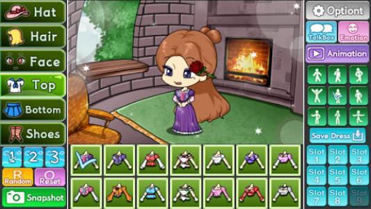 اسکرین شات بازی Pretty Girl's Tangled Style : dress up game 4