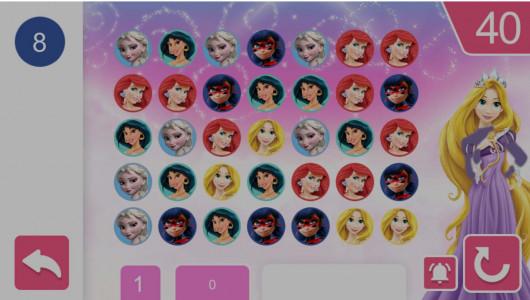 اسکرین شات بازی جورچین شاهزاده های دخترونه 4