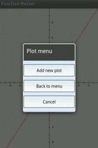 اسکرین شات برنامه Function Graph Plotter 5