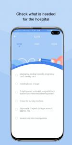 اسکرین شات برنامه HiMommy - Pregnancy Tracker App 5