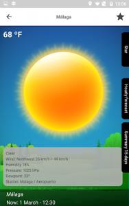 اسکرین شات برنامه Weather 15 Days 7