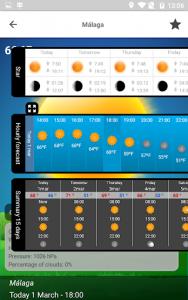 اسکرین شات برنامه Weather 15 Days 3