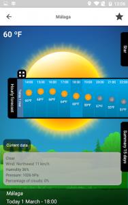 اسکرین شات برنامه Weather 15 Days 8