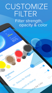 اسکرین شات برنامه Blue Light Filter for Eye Care 3