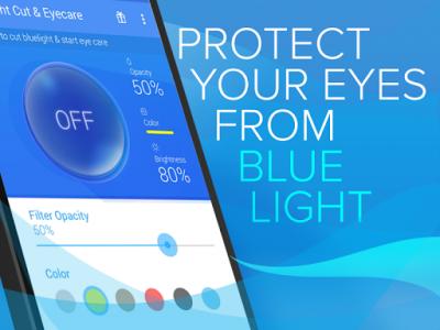 اسکرین شات برنامه Blue Light Filter for Eye Care 5