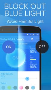 اسکرین شات برنامه Blue Light Filter for Eye Care 6