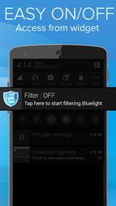 اسکرین شات برنامه Blue Light Filter for Eye Care 8