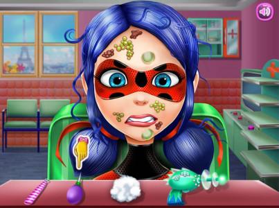 اسکرین شات بازی سالن زیبایی دخترکفشدوزکی 3