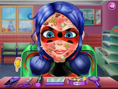 اسکرین شات بازی سالن زیبایی دخترکفشدوزکی 2