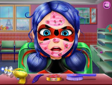 اسکرین شات بازی سالن زیبایی دخترکفشدوزکی 4
