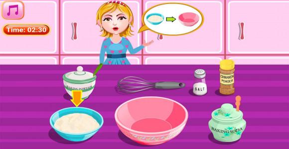 اسکرین شات بازی آشپزی پخت کیک هویچ 5