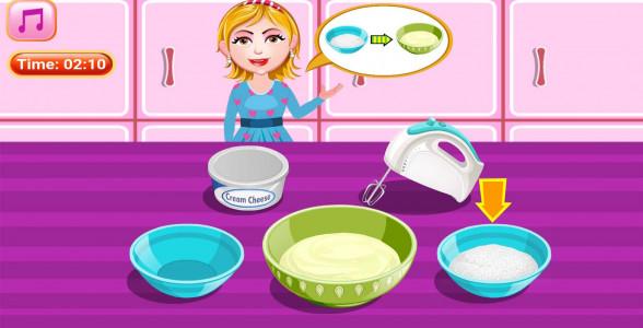 اسکرین شات بازی آشپزی پخت کیک هویچ 4