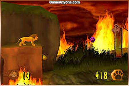 اسکرین شات بازی شاه سیمبا (سلطان جنگل) 4