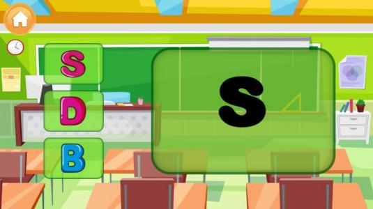 اسکرین شات بازی الفبای انگلیسی برای کودکان 2