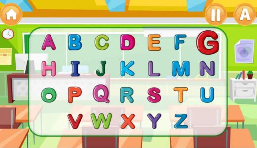اسکرین شات بازی الفبای انگلیسی برای کودکان 3