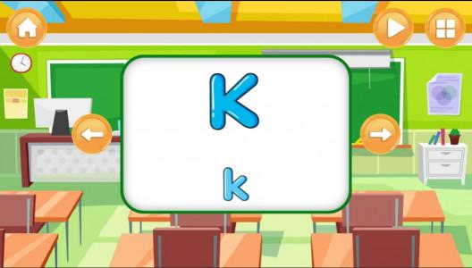 اسکرین شات بازی الفبای انگلیسی برای کودکان 4