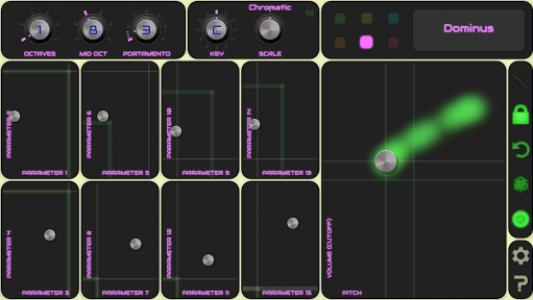 اسکرین شات برنامه QiBrd: Free Virtual Analog Synthesizer 7