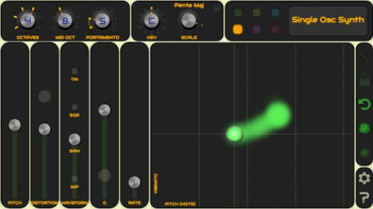 اسکرین شات برنامه QiBrd: Free Virtual Analog Synthesizer 6