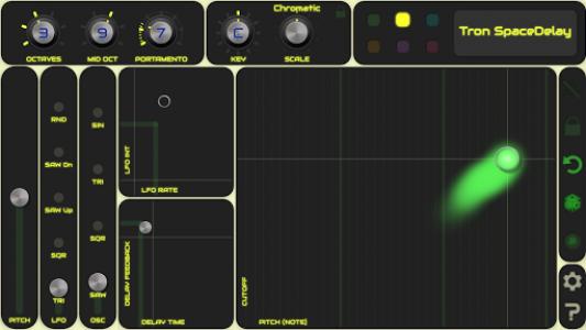 اسکرین شات برنامه QiBrd: Free Virtual Analog Synthesizer 2
