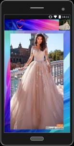 اسکرین شات برنامه آموزش طراحی لباس عروس 1