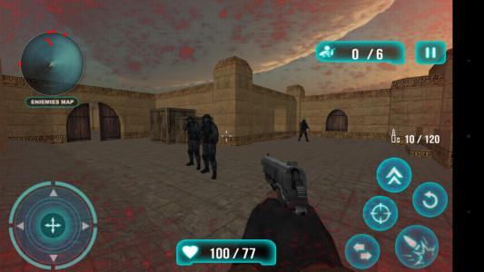 اسکرین شات بازی تک تیرانداز نیمه عمر تروریست 1