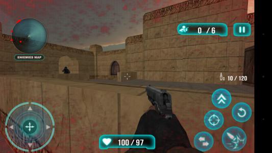 اسکرین شات بازی تک تیرانداز نیمه عمر تروریست 3