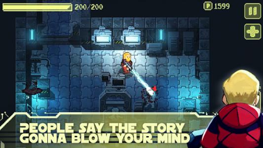 اسکرین شات بازی Ailment: space pixel dungeon 2