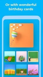 اسکرین شات برنامه Birthdays - Reminder, Calendar & Greeting Cards 4