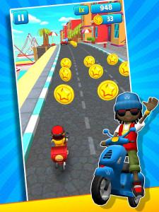 اسکرین شات بازی Subway Scooters Free -Run Race 7