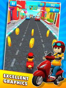 اسکرین شات بازی Subway Scooters Free -Run Race 1